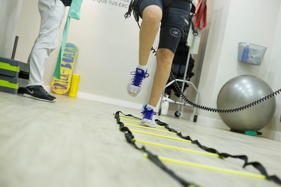 Entrenamiento con fisioterapeutas